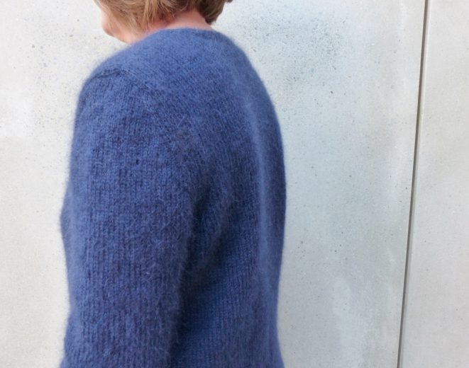 Strickanleitung, Strickjacke