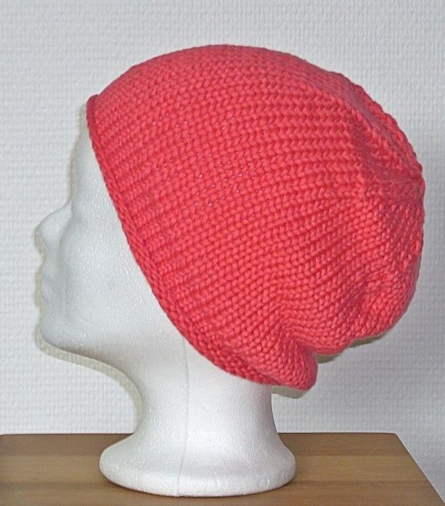 pinke Mütze